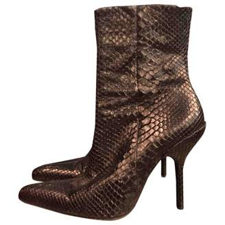 Free Lance Python Ankle Boots