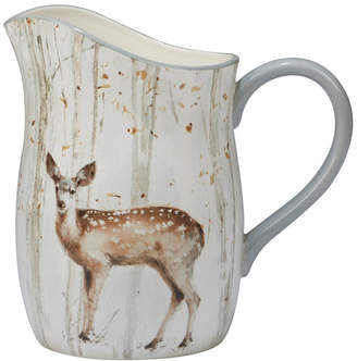 Certified International A Woodland Walk Pitcher