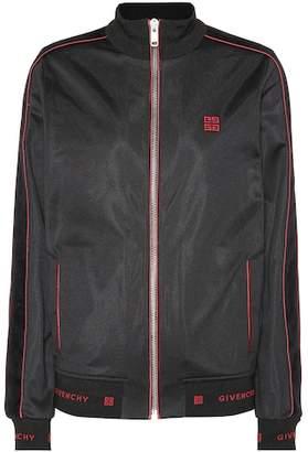 Givenchy Logo jersey jacket