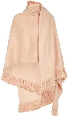 Roche Ryan Cashmere Fringed Blanket Cardigan