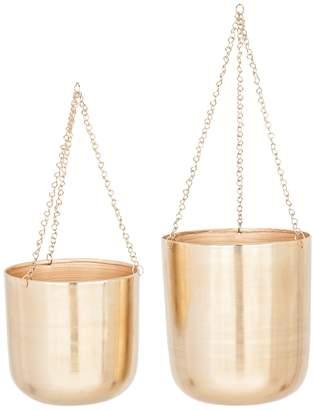 UMA Traditional Hanging Planters (Set of 2)