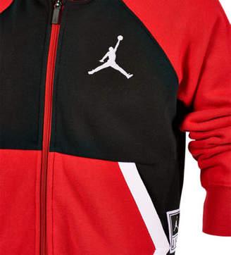 Nike Boys Jordan Diamond Fleece Full-Zip Hoodie