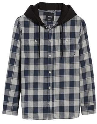 Vans Lopes Hooded Plaid Flannel Jacket