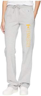 Champion College Tennessee Volunteers University Fleece Open Bottom Pants Women's Casual Pants