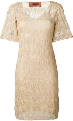 Missoni v-neck dress