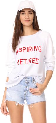 Wildfox Aspiring Retiree Sweatshirt $108 thestylecure.com