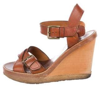 Isabel Marant Handy Wedge Sandals