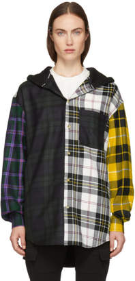 Alexander Wang Muticolor Plaid Overshirt