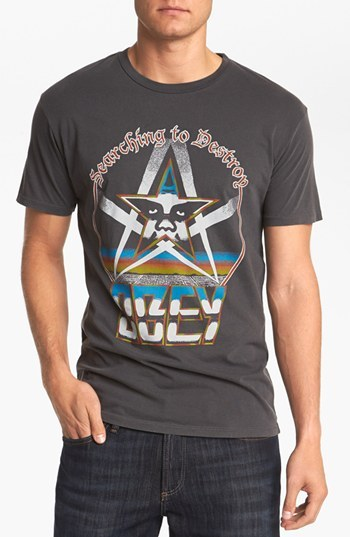 Obey 'Searching to Destroy' T-Shirt