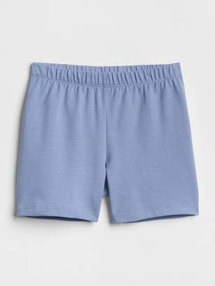 Gap Print Tumble Shorts in Stretch Jersey