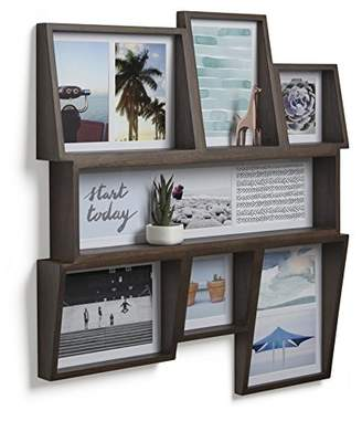 Umbra Edge Multi-Photo Wall Display – Great Collage Photo Frame for Family Photos