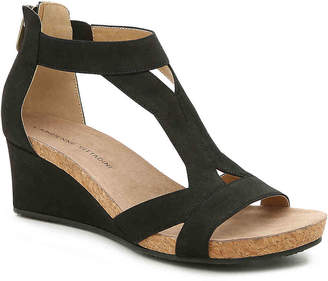 Adrienne Vittadini Thayer Wedge Sandal - Women's