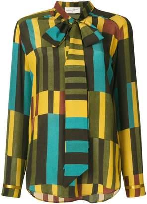 Antonia Zander geometric print blouse