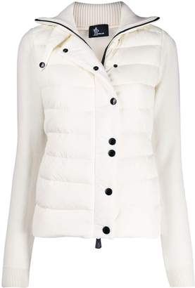 Moncler button-up padded jacket
