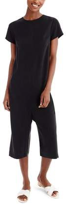 J.Crew Universal Standard for Wide Leg Cupro Blend Jumpsuit