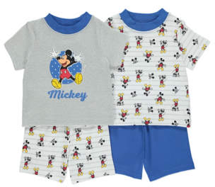 Disney Mickey Mouse Pyjamas 2 Pack