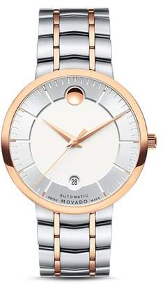 Movado 1881 Automatic Two-Tone Watch, 40mm