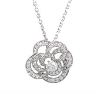 Chanel Heritage  18K White Gold 1.00 Ct. Tw. Diamond Necklace
