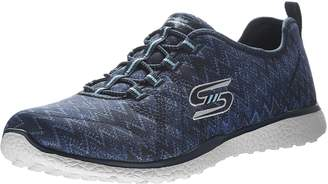Skechers Women's Sport-Active-Microburst-Fluctuate Bungee Lace-Up with Mf