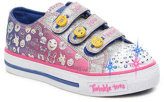 Skechers Twinkle Toes Expressionista Toddler & Youth Light-Up Sneaker - Girl's