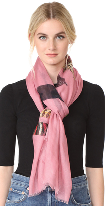 Yigal Azrouel Snake Scarf $385 thestylecure.com