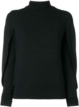 Plein Sud Jeans cut out detailed blouse