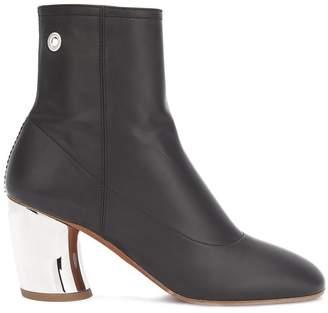 Proenza Schouler metallic heel ankle boots
