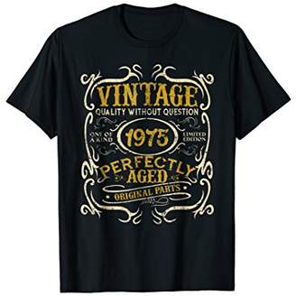Vintage 1975 Perfectly Original Parts 43 Years Old T-shirt