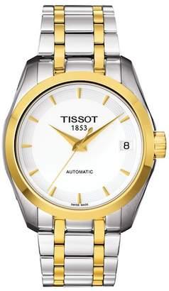 Tissot Women's Couturier Swiss Automatic Two-Tone Bracelet Watch, 32mm