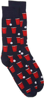 Hot Sox Beer Pong Crew Socks - Men's