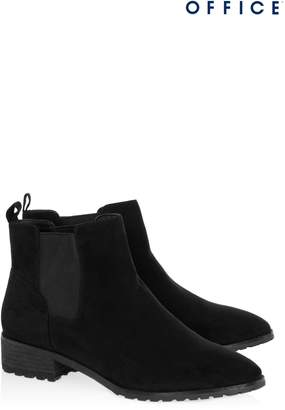 Next Womens Office Cleat Sole Chelsea Boots