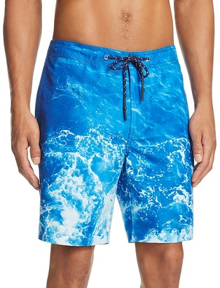 Surfside Supply Ocean Print Swim Trunks $88 thestylecure.com