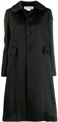 Comme des Garcons loose-fit long coat