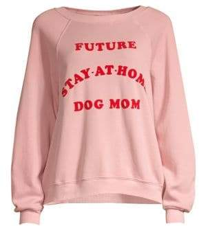 Wildfox Couture Home Dog Mom Sweatshirt
