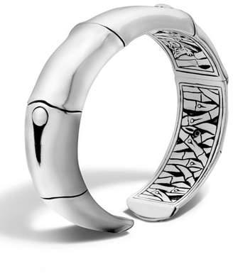John Hardy Bamboo Silver Cuff Bracelet
