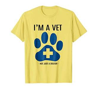 NOT JUST A DOGTOR T SHIRT Veterinary Veterinarian T-Shirt