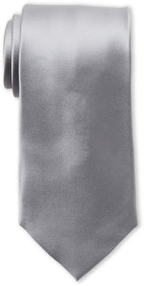 Piattelli Bruno Solid Silver Silk Tie