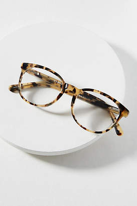 Anthropologie Rhona Cat-Eye Tortoise Reading Glasses