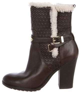 MICHAEL Michael Kors Leather High Heel Boots
