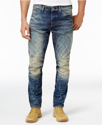 G-Star RAW Men's 3-D Tapered Jeans $190 thestylecure.com