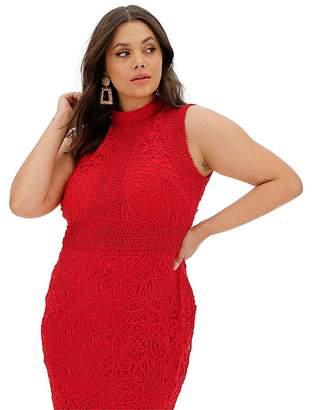 Joanna Hope Luxury Lace Shift Dress