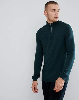 Asos DESIGN Midweight Sweater In Green