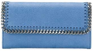 Stella McCartney Falabella continental wallet clutch