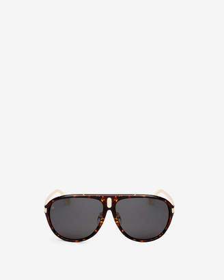 Express Prive Revaux Brown Tortoise Mcqueen Sunglasses