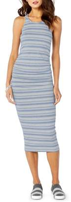 Michael Stars Kali Striped Midi Dress