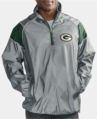 G-iii Sports Men's Green Bay Packers Fade Player Lightweight Pullover Jacket
