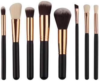 Goodtrade8 8Pcs Mini Cosmetic Eyeshadow Makeup Brush Sets Kits Tools