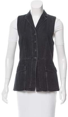 Rag & Bone Notched Collar Utility Vest