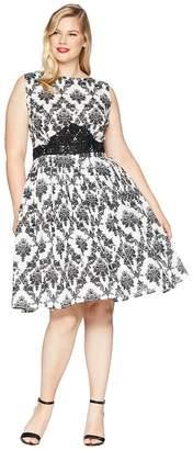 Unique Vintage Plus Size Sleeveless Bella Swing Dress Women's Dress