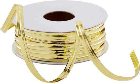 Container Store Metallic Ribbon Wire Gold